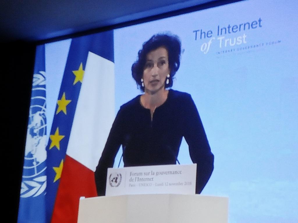 Одри Азулай, генеральный директор ЮНЕСКО