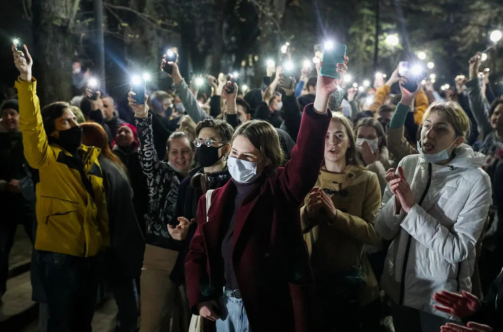 Протесты, дело DOXA, операторы против РКН